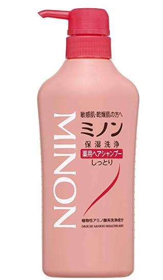 『ミノン薬用シャンプー』の口コミ&成分を美容師がレビュー